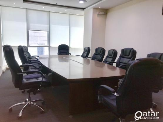 Office with sponsor  and  trading license approval