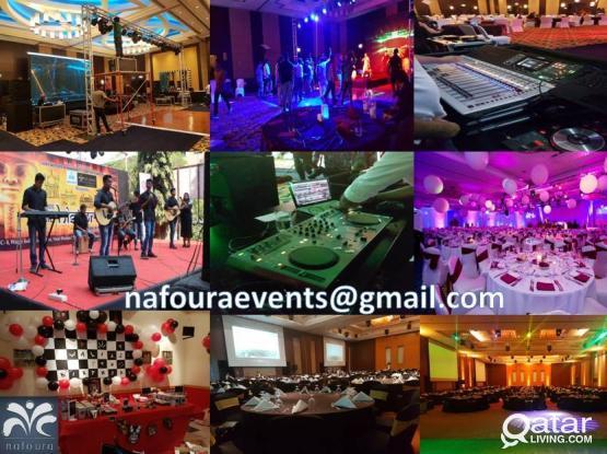 Events | Exhibitions | Entertainment I DJ I Birthday I VIP Poles I  Decorations