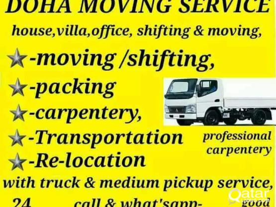 (little price ) MOVING SHIFTING HOUSE VILLA OFFICE CARPENTER PAKING SERVICE 70737954/ 55481537
