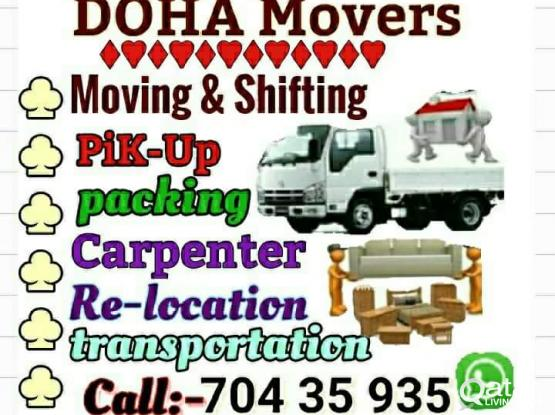 Low price moving.. Shifting.. Ac/service.. Call me 70435935 Carpenter.. Packing..transportation service..