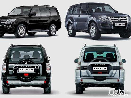 Ramadan Offer   Mitsubishi Pajero  Available For Rent !!Call Us Now :33131241 & 44663933