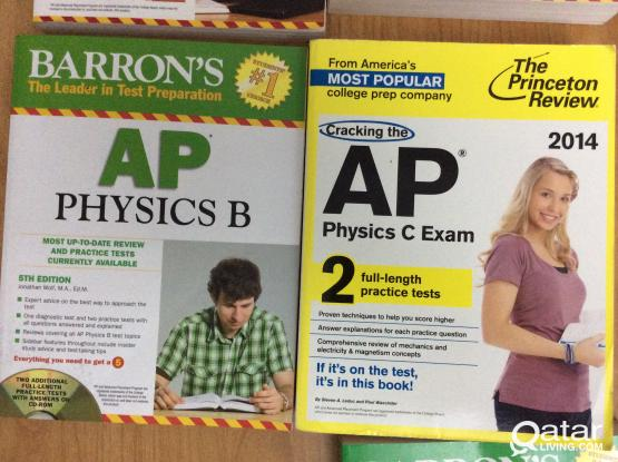 Advanced Placement Books ( most books UNUSED)