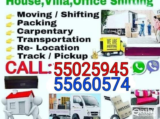 ''LOW'' PRICE''CALL:55025945 SHIFTING MOVING TRANSPORTATION CARPENTERY WITH PICK UP truck