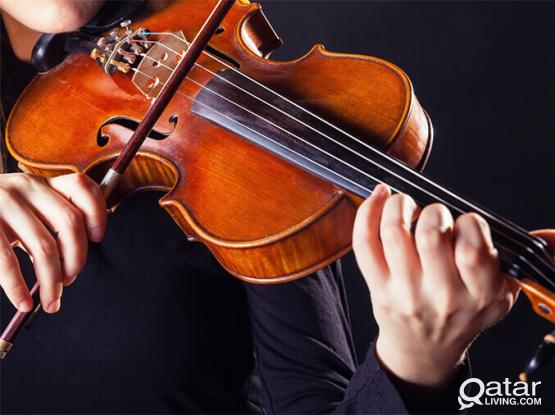 Providing Violin Classes