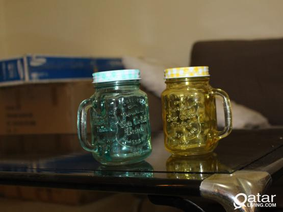 two candy bottles for sale