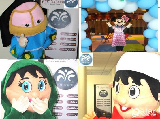 MASCOTS FOR YOUR EVENTS