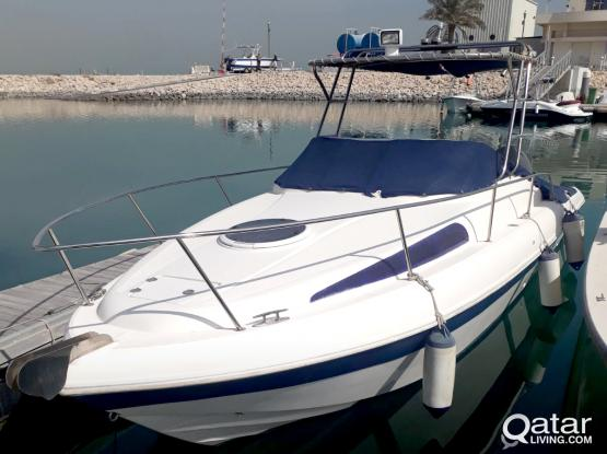 BOAT 26 FT SILVER CRAFT CABIN