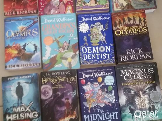 Novels book Teens and adults