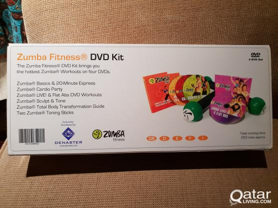 Zumba Fitness DVD kit