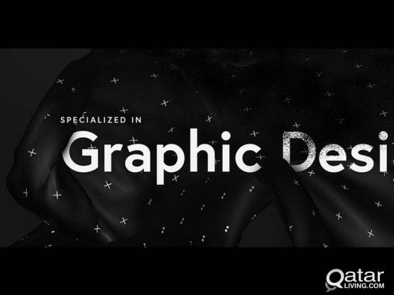 GRAPHIC DESIGNER AVAILABALE in DOHA!