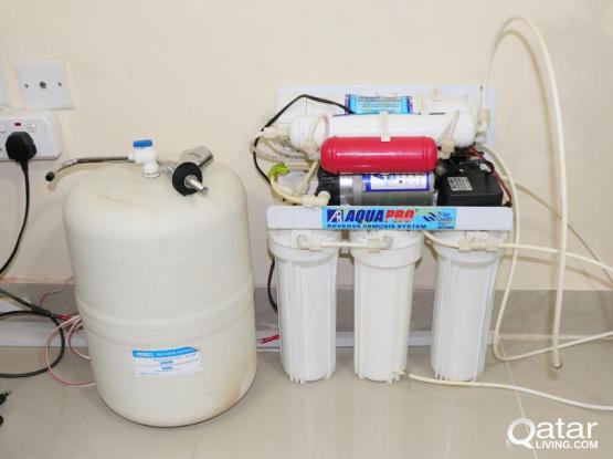 Aqua Pro RO based water purification system(Free 3# shower heads)
