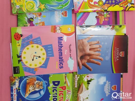 New School Books (Loyala International KG2 & Class 2)