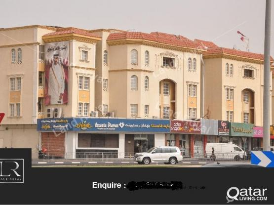 SPACIOUS 3 Bedroom  APARTMENTS AVAILABLE FOR BACHELORS IN WAKRAH MC DONALD BUILDING