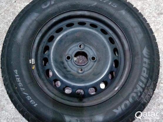 Chevrolet sonic tyre & wheel for sale