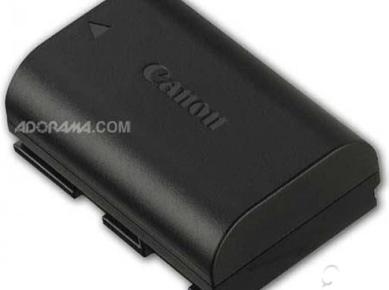 canon original battery for 6d ,5d mark 3 , 80d