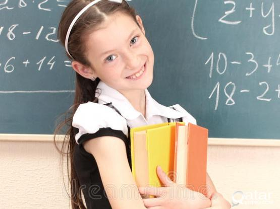 Class IV CBSE Books and Girl Uniform