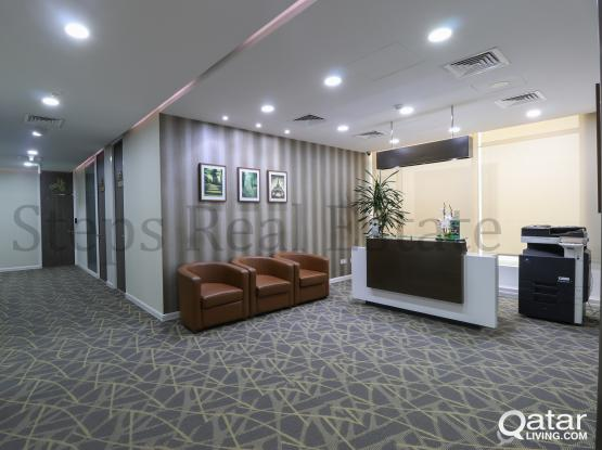 Rent a Presentable Serviced office in C Ring Road