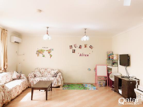 room available in villa of Ezdan 23 Wukair, long term only