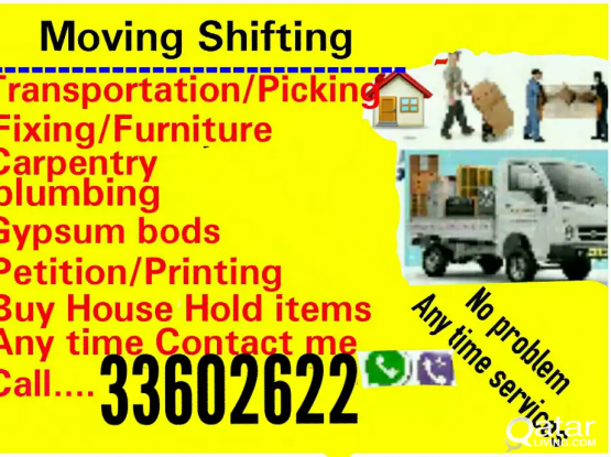 Moving shifting packing carpenter  transport services##33602622##