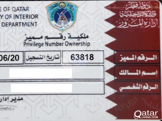 63818  (Privilege Number Ownership)