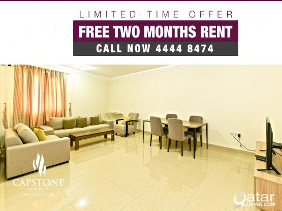FREE Two Months Rent at Old Airport - 2BR FF Apartments'