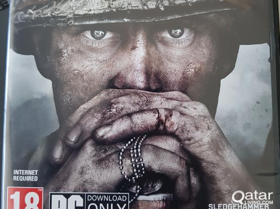 call of duty world war 2 for PC