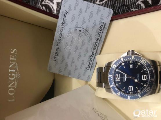 LONGINES HYDROCONQUEST DIVING WATCH AUTOMATIC 41mm