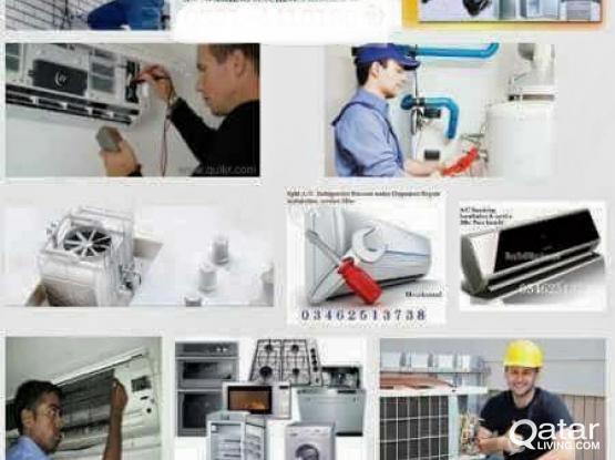 AC FRIDGE WASHING MACHINE REPAIR SERVICE 50071704