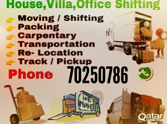house moving service call me 70250786