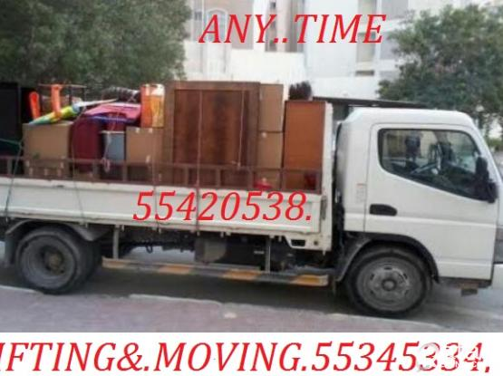55420538,TRANSPORT.SHIFTING,MOVING,CARPENTAR,HOUSE.SHIFTING,WITH/TRUCK&PICK UP PLEASE.CALL.55345334
