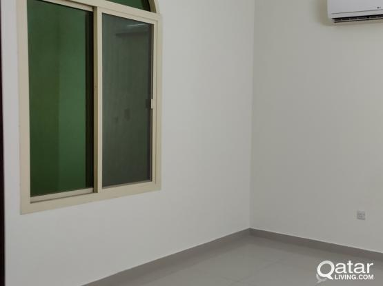 Spacious semi furnished2 BHK part of villa available in Al thumama kharama back side including e&w and wifi