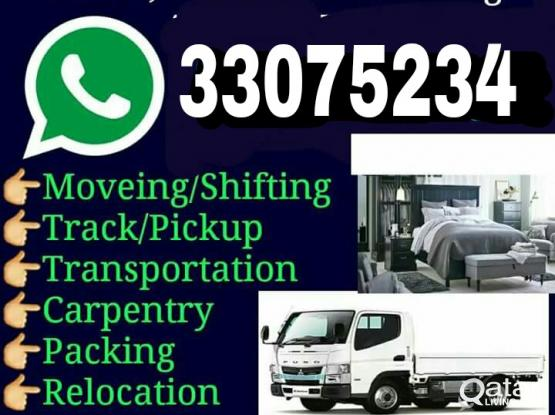 Shifting Moving Carpenter Transportation service please sir call me-33075234