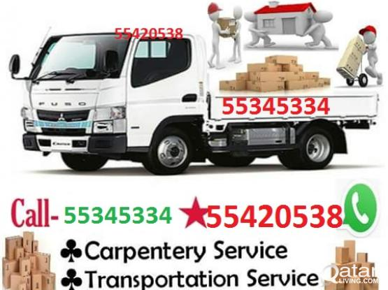 55420538,TRANSPORT.SHIFTING,MOVING,CARPENTAR,HOUSE.SHIFTING,WITH TRUCK&PICK UP]PLEASE.CALL.55345334