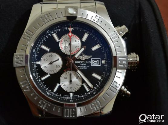 Genuine Swiss made Breitling Super Avenger II Automatic Watch for sale.