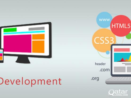 Website Designing  service for cheep price. contact me on +97477419606