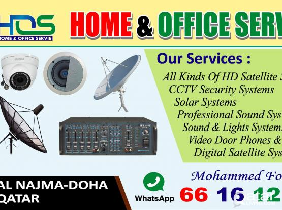 DISH SATELLITE CCTV CAMERA FAXING SELLING 66161269