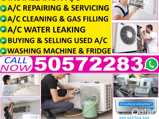 call(50572283)we are all ac repair and maintenance work. I can do A/c Fixing,servicing, gass filling.cleaning & Removing. we provide lowest cost at qatar which is your range, we should provide good service. we are available for your service at any time