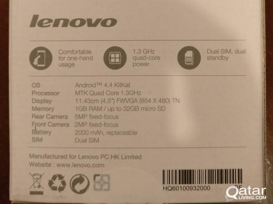 Lenovo A 328 dual simm smart phone