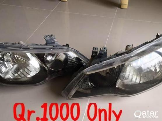 Honda Civic lights available