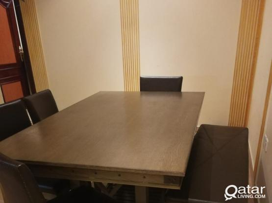 FOR SALE: KITCHEN TABLE + 4CHAIRS + BENCH
