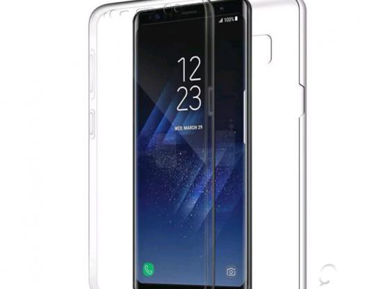 Samsung A8+ 360 clear case