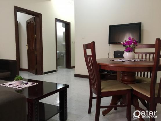 **NO COMMISSION** Fully Furnished 1BHK apartment in (MUSHERIB)