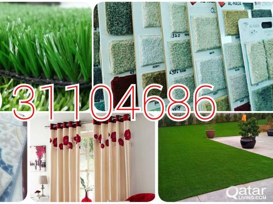 Carpet, Curtain,vinyl, Artificial grass