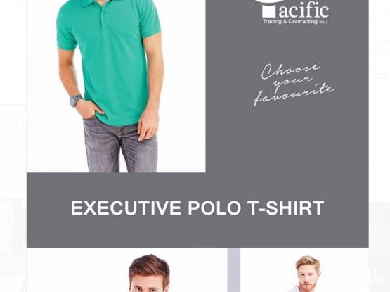 T-shirt & Polo Shirt Customized Uniforms w/ Embroidery & Screen Printing & Marketing Gifts
