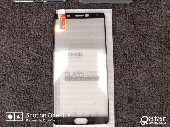 huawei mate 10 cases (2 nos) and screen protector