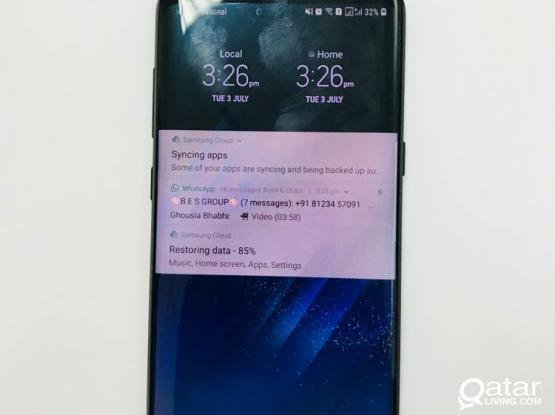 Urgent Sale Galaxy S8 plus in very good condidtion