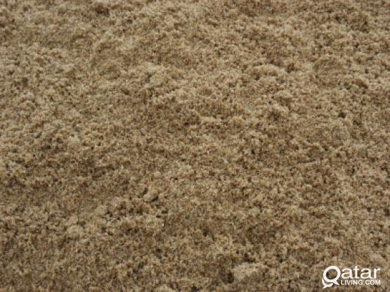 Wash sand and dune sand available