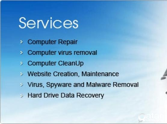 All kind of computer service and maintenance