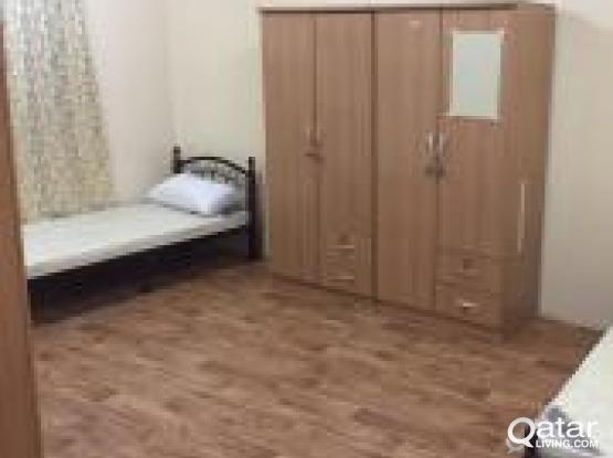 batchelor bedspace and family room is available