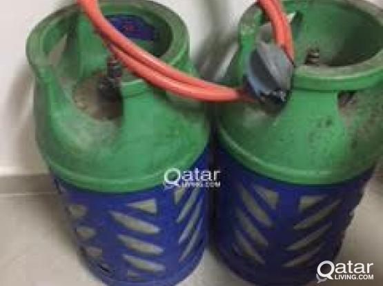 Gas cylinders (Shafaf) -2 nos